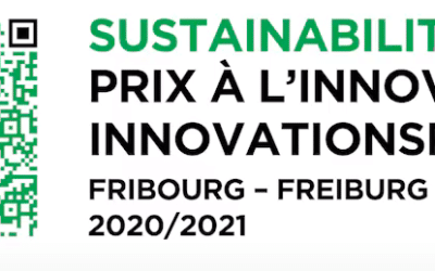 "Finalist of the ""Prix à l'innovation du Canton de Fribourg"""